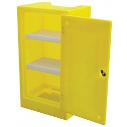 Armoire de sécurité mobile pour produits corrosifs  Capacité : 60 L