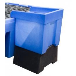 Bac de soutirage en plastique