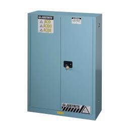 Armoire de sécurité pour produits corrosifs  Capacité : 170 L