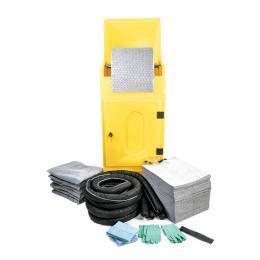 Kit anti-pollution tous liquides - Armoire  Absorption : 300 L
