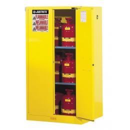 Armoire de sécurité pour produits inflammables  Capacité : 227 L