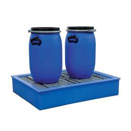 Bac de rétention en plastique  Capacité : 100 L