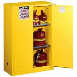 Armoire de sécurité pour produits inflammables  Capacité : 170 L