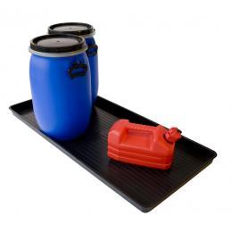 Petit bac de rétention en plastique  Capacité : 30 L