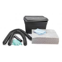 Kit anti-pollution tous liquides - Coffre  Absorption : 50 L