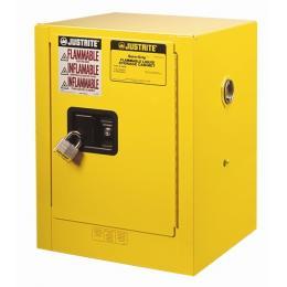 Armoire de sécurité pour produits inflammables  Capacité : 15 L