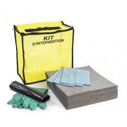 Kit anti-pollution tous liquides - Sac <br> Absorption : 10 L