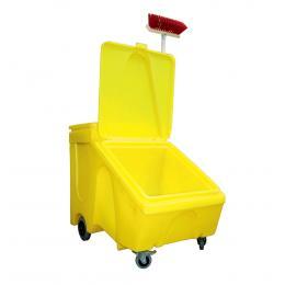 Coffre mobile pour granulés  - 280 L