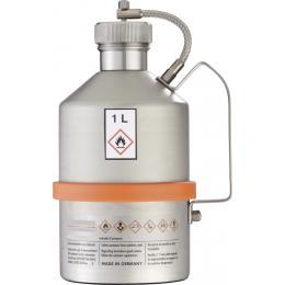 Récipient de sécurité pour produits inflammables et chimiques <br> 1 L