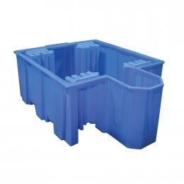 Bac de rétention en plastique  1 cuve de 1000 L