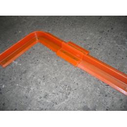 Angle pour connexion ECB010  Barrière souple en plastique