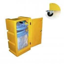 Kit anti-pollution chimique - Armoire avec neutralisant acide   Absorption : 100 L