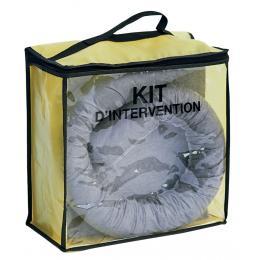 Kit anti-pollution tous liquides - Sac PVC <br> Absorption : 50 L