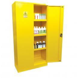 Armoire de sécurité pour produits inflammables Capacité : 240 L