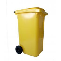 Kit anti-pollution tous liquides - Poubelle avec granulés <br> Absorption : 200 L