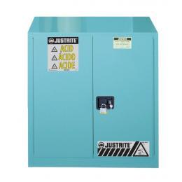 Armoire de sécurité pour produits corrosifs  Capacité : 114 L