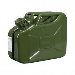 Jerrican de transport carburants en acier <br> 10 L