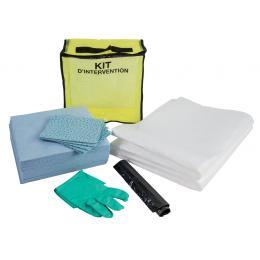 Kit anti-pollution hydrocarbure - Sac <br> Absorption : 20 L