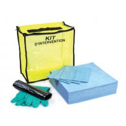 Kit anti-pollution hydrocarbure - Sac  Absorption : 10 L