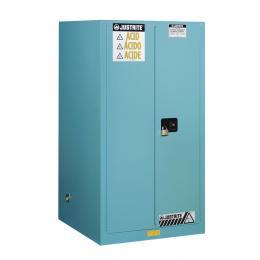 Armoire de sécurité pour produits corrosifs  Capacité : 227 L