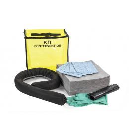 Kit anti-pollution tous liquides - Sac <br> Absorption : 20 L