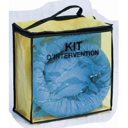 Kit anti pollution hydrocarbure - Sac  Absorption : 75 L