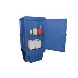 Armoire de sécurité pour produits corrosifs  Capacité : 220 L
