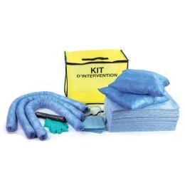 Kit anti-pollution hydrocarbure - Sac  Absorption : 90 L