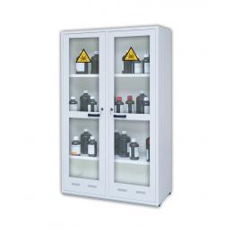 Armoire de sécurité pour produits dangereux  Capacité : 2 x 130 L