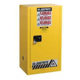 Armoire de sécurité pour produits inflammables  Capacité : 57 L