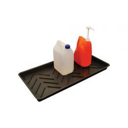 Petit bac de rétention en plastique  Capacité : 11 L