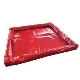 Bac souple pour hydrocarbure <br> 900 x 975 x 80 mm