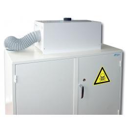 Caisson de ventilation et de filtration pour armoire de sécurité