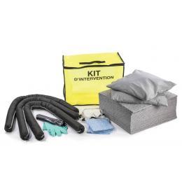 Kit anti-pollution tous liquides - Sac  Absorption : 90 L