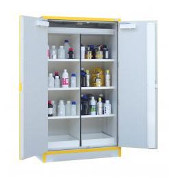 Armoire de sécurité pour produits inflammables  Capacité : 2 x 120 L