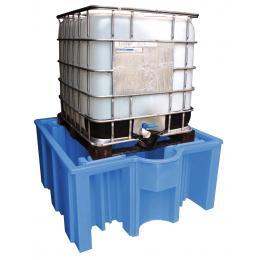 Bac de rétention en plastique  1 cuve 1000 L