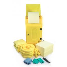 Kit anti-pollution chimique - Armoire avec neutralisant chimique  Absorption : 290 L