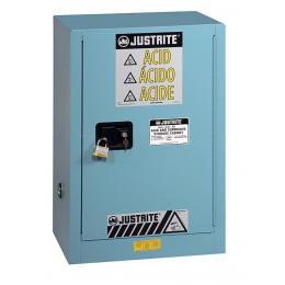 Armoire de sécurité pour produits corrosifs <br> Capacité : 45 L