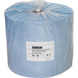 Rouleau d'essuyage absorbant- 500 feuilles <br>Epaisseur : 85gr/m2