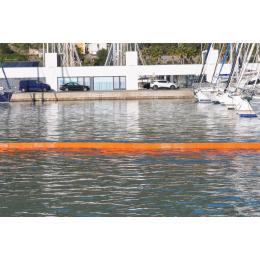 Barrage de confinement à flotteurs plats  Hauteur totale : 100 cm