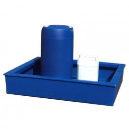 Bac de rétention en plastique <br> Capacité : 100 L